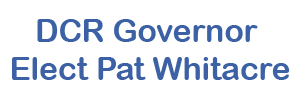 DCR Governor Elect Pat Whitacre