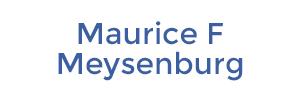 Maurice F Meysenburg
