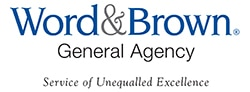Word and Brown General Agency Logo