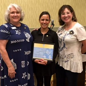Whitter Soroptimist welcomes Sheena Castillo, our new member.